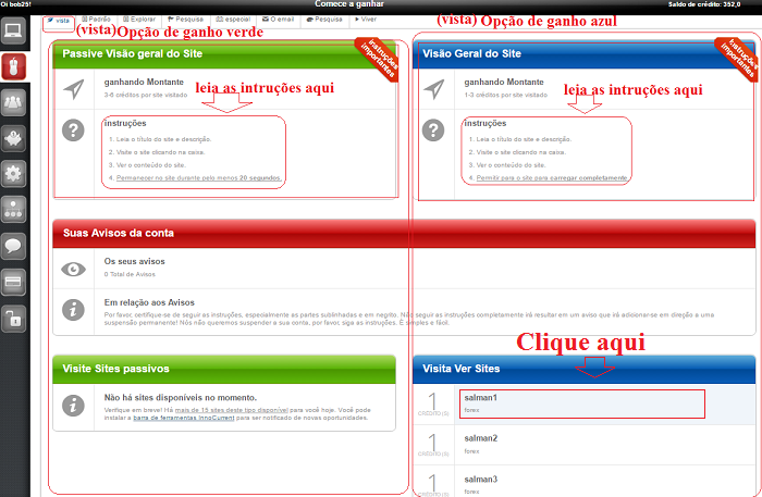 tutorial de como usar site innocurrent
